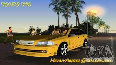 VOLVO V40 для GTA Vice City