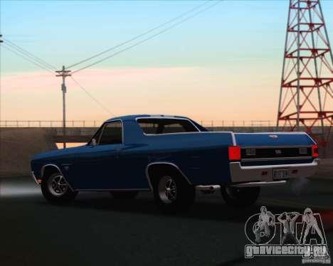 Chevrolet EL Camino SS 70 для GTA San Andreas вид слева
