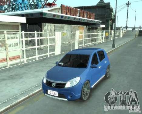 Renault Sandero v1.0 для GTA 4