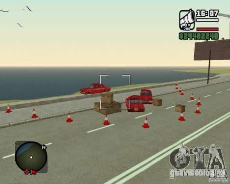 Дорога Лыткарино-Нижегородск для GTA San Andreas третий скриншот