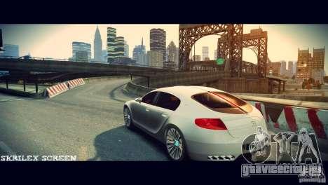 Bugatti Galibier 16C (Bug fix) для GTA 4 вид справа