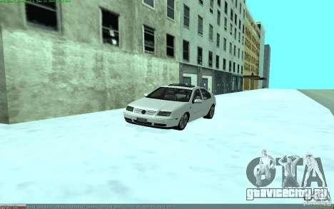 Volkswagen Bora 1.8 для GTA San Andreas вид справа
