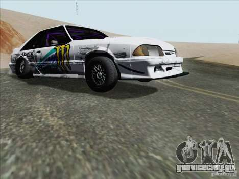 Ford Mustang Drift для GTA San Andreas вид слева
