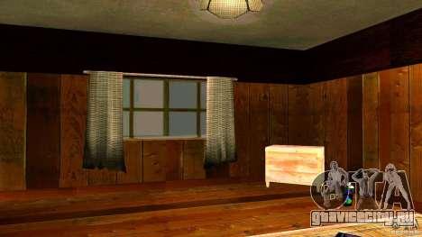 Новые текстуры для дома CJ для GTA San Andreas
