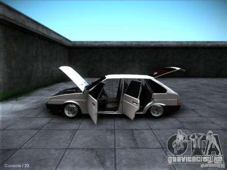 ВАЗ 2109 Ростов для GTA San Andreas салон