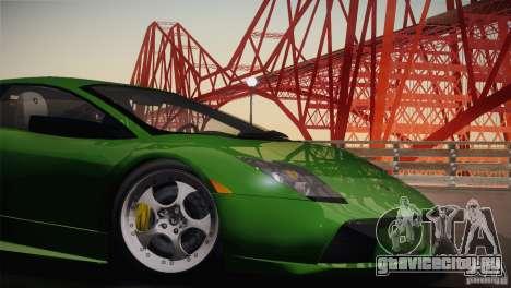 Lamborghini Murcielago 2002 v 1.0 для GTA San Andreas вид сзади
