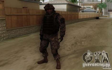 Сержант Фоули из CoD: MW2 для GTA San Andreas