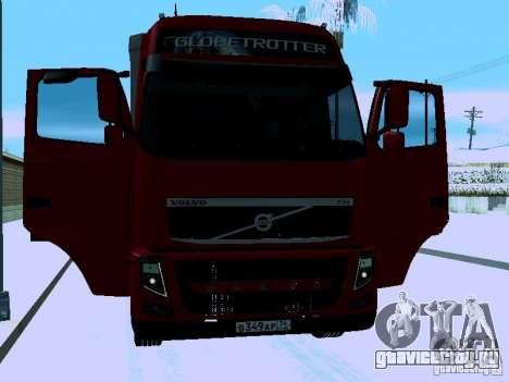 Volvo FH13 для GTA San Andreas вид сбоку