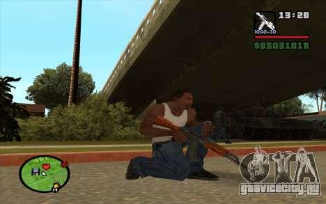 АКМ для GTA San Andreas второй скриншот