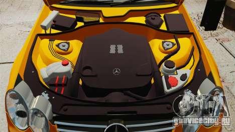 Mercedes-Benz CLK 55 AMG для GTA 4 вид изнутри