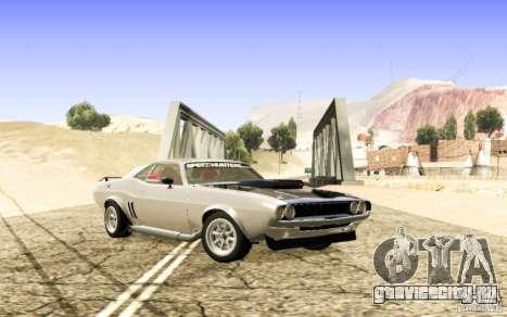 Dodge Charger 1969 SpeedHunters для GTA San Andreas