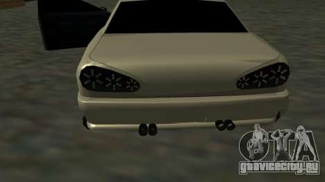 Elegy Roportuance для GTA San Andreas вид сбоку