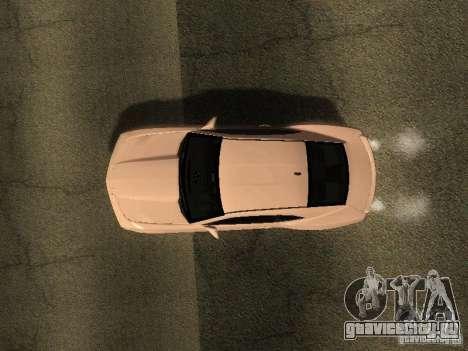 Chevrolet Camaro SS 2010 для GTA San Andreas вид сзади