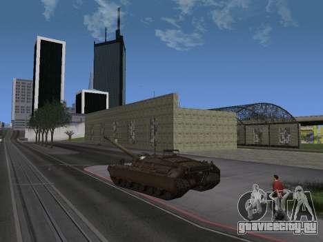 ПТ-САУ T95 для GTA San Andreas вид сзади слева
