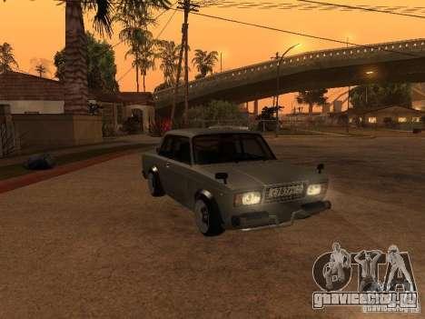 Ваз 2107 Coupe для GTA San Andreas