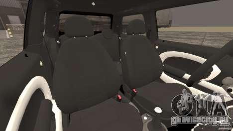 Mini Cooper S v1.3 для GTA 4 вид изнутри