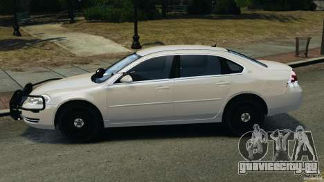 Chevrolet Impala Unmarked Detective [ELS] для GTA 4 вид слева