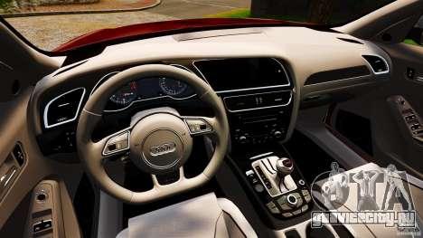 Audi RS4 Avant 2013 для GTA 4 вид сзади