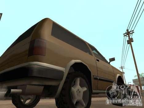 Новый Landstalker для GTA San Andreas вид сзади