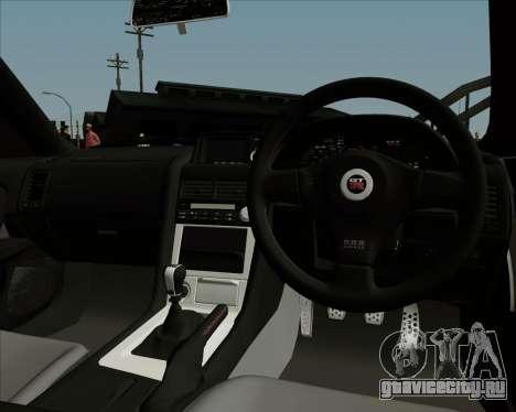 Nissan Skyline GTR R34 для GTA San Andreas вид сбоку
