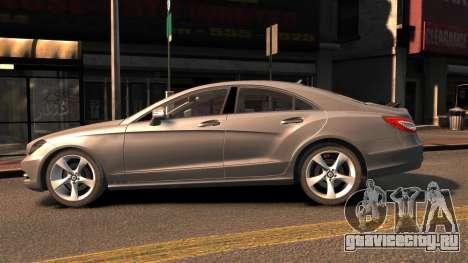 Mercedes-Benz DK CLS350 для GTA 4 вид слева
