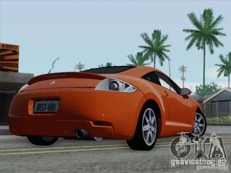 Mitsubishi Eclipse GT V6 для GTA San Andreas колёса