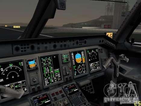 Embraer ERJ 190 USAirways для GTA San Andreas вид сверху