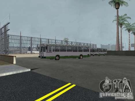 4-ый автобусный парк v1.0 для GTA San Andreas пятый скриншот