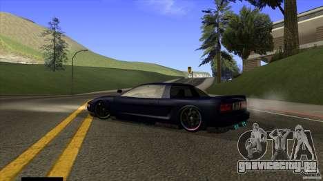Infernus v3 by ZveR для GTA San Andreas вид слева