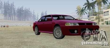 Sultan SRX для GTA San Andreas вид сбоку