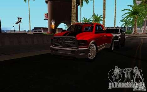 Dodge Ram 3500 Tuning для GTA San Andreas вид слева