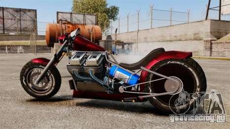 Dragbike Street Racer для GTA 4 вид слева