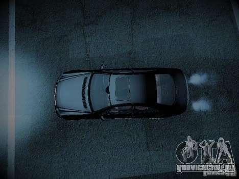 Mercedes-Benz CLK 55 AMG Coupe для GTA San Andreas вид сзади