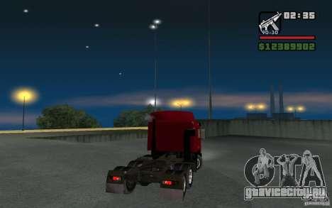 МАЗ-643068 для GTA San Andreas вид слева