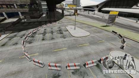 Дрифт-трек у аэропорта для GTA 4 второй скриншот