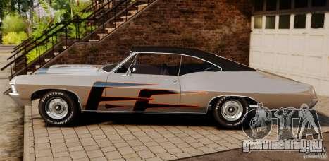 Chevrolet Impala 427 SS 1967 для GTA 4 вид слева