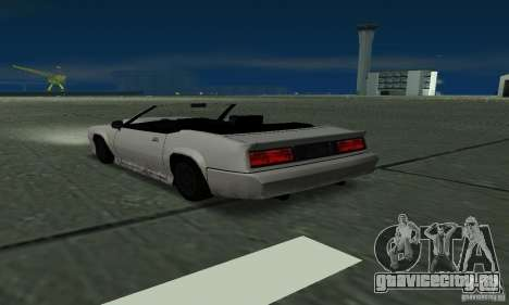 Buffalo Cabrio для GTA San Andreas вид слева