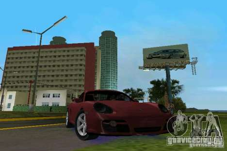 Porsche Cayman для GTA Vice City
