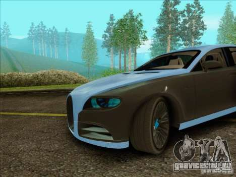 Bugatti Galibier 16c для GTA San Andreas вид слева