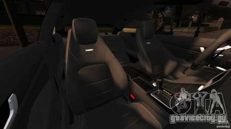 Mercedes-Benz C 63 AMG для GTA 4 вид изнутри