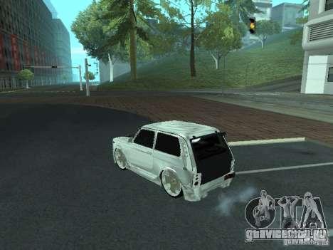 ВАЗ 2121 Final для GTA San Andreas вид слева