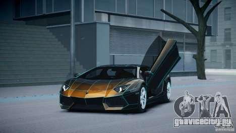 Lamborghini Aventador LP700-4 для GTA 4 вид изнутри