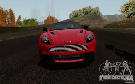Aston Martin Vanquish 2012 для GTA San Andreas вид слева