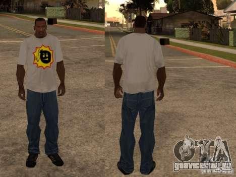 Новая футболка для GTA San Andreas