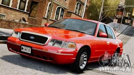 Ford Crown Victoria Civil 2006 для GTA 4