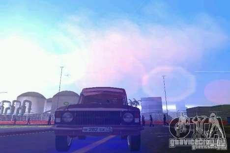 ИЖ 2715 для GTA Vice City вид сзади