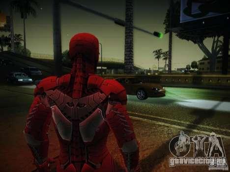 Iron Man 3 Mark V для GTA San Andreas второй скриншот