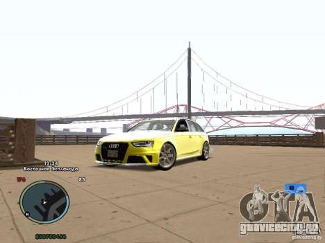 Электронный спидометр для GTA San Andreas