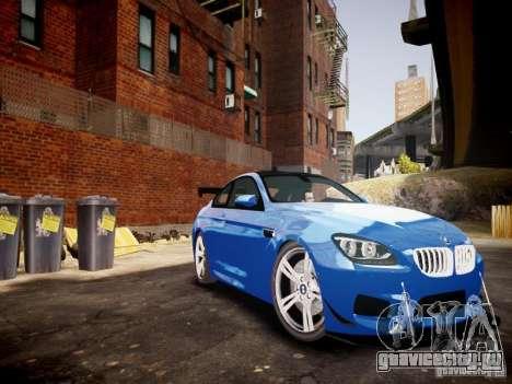 BMW M6 2013 для GTA 4 вид изнутри