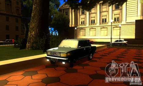 ВАЗ 2107 v2.0 для GTA San Andreas